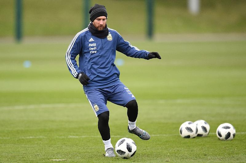 ede06b71c Messi begins road to Russia as Argentina chase World Cup glory