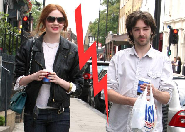 Doctor Who's Karen Gillan is single after splitting from