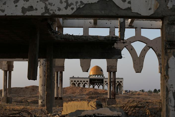 A view of the derelict remains of Gaza International Airport in Rafah in the southern Gaza Strip, April 27, 2019. President Bill Clinton attended the opening ceremony in 1998. But Israeli air strikes and bulldozers closed it down during the second Palestinian uprising, or intifada, a few months after the Sept. 11, 2001, attacks on the United States. (Photo: Ronen Zvulun/Reuters)