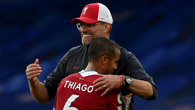 Thiago is a 'special' signing for Liverpool, says Arteta