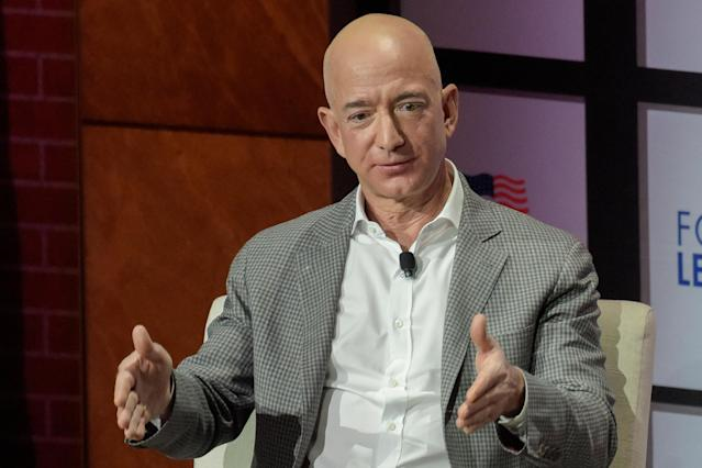 Jeff Bezos, Chairman y CEO de Amazon REUTERS/Rex Curry