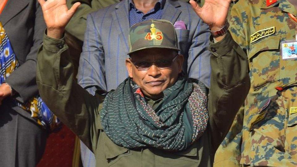 "Debretsion Gebremichael, attends celebrations marking the 45th anniversary of the launching of the ""Armed Struggle of the Peoples of Tigray"", on February 19, 2020, in Mekelle"