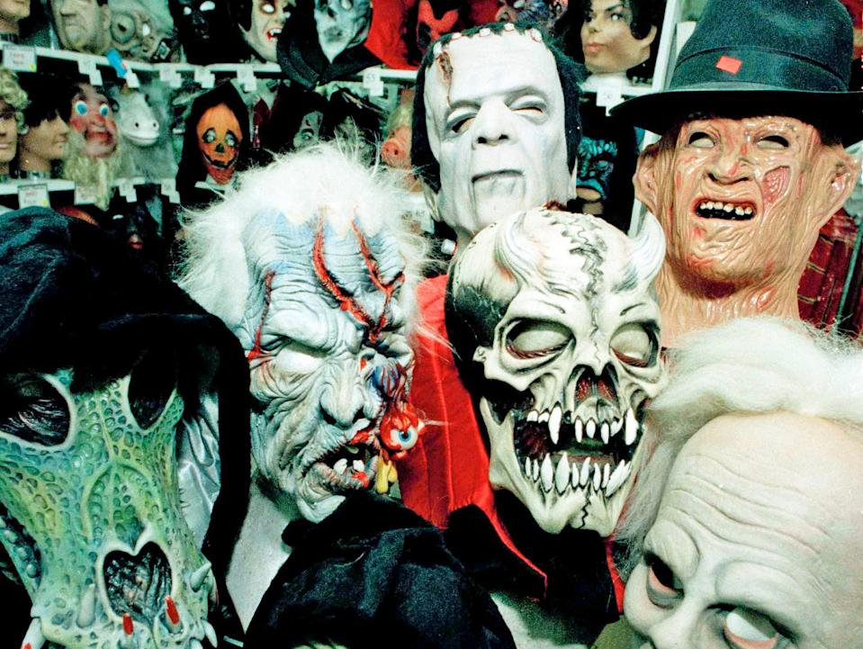 1989 halloween costumes realistic scary masks