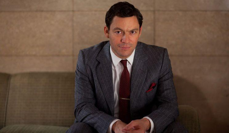 Dominic West in The Hour - Credit: BBC