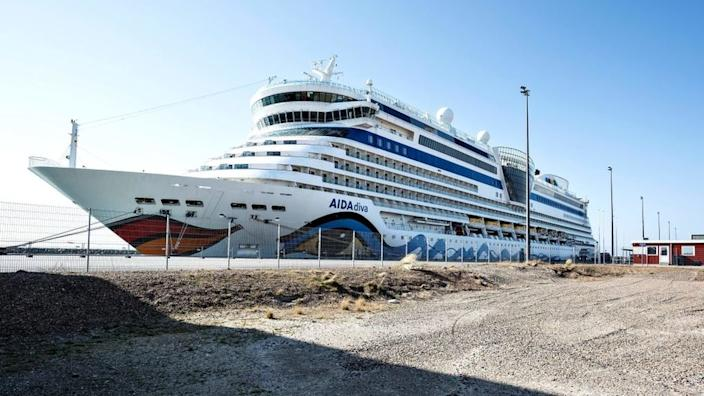 Cruise ships have been moored up around the world as a result of the coronavirus pandemic