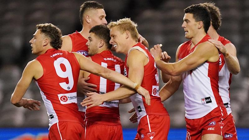 Sydney have scored an impressive 11-point win over North Melbourne in their AFL clash at Marvel