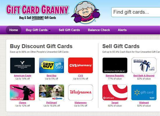 """<em>Gift card reseller </em> Six out of every ten people say they want a gift card more than anything else this year. With <a href=""""http://www.giftcardgranny.com/"""">Gift Card Granny</a>, you can buy other shoppers' unused gift cards for as much as 50% off the normal price, or sell back your old gift cards that you never got around to using. The service recently launched a <a href=""""https://play.google.com/store/apps/details?id=com.kinoli.giftcardgranny&hl=en"""">free app</a> to make it easier to find deals on gift cards while on the go."""
