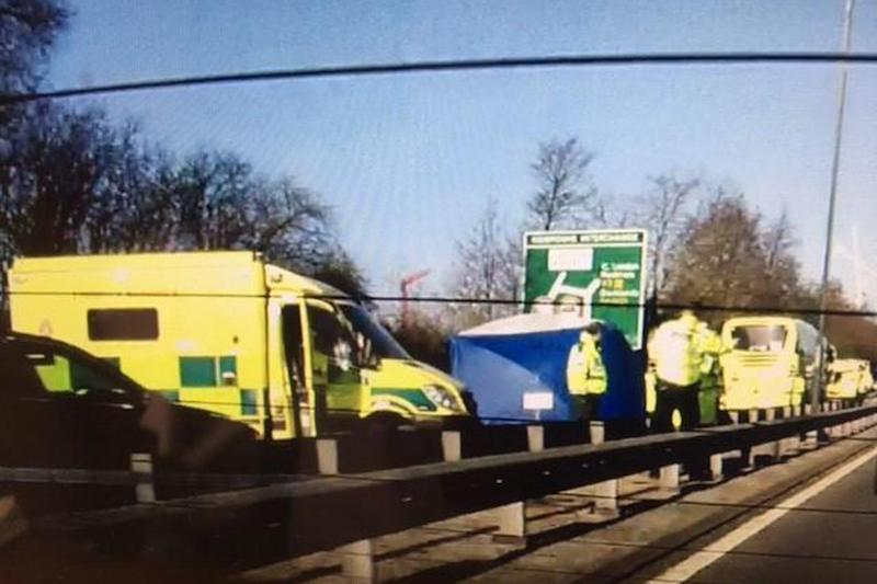 Serious crash: A 47-year-old man has died following a crash in south-east London: Justin Scrutton