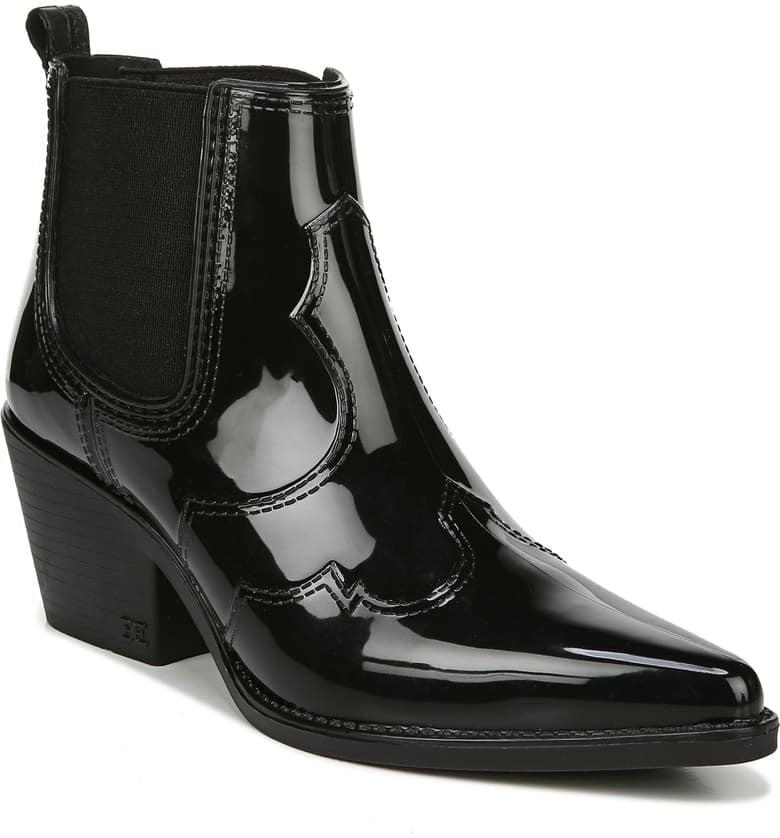 """<p>The Sam Edelman Winona Boots are some of our favorite boots ever; they are flattering and comfortable, and they go with everything. So when we saw these <a href=""""https://www.popsugar.com/buy/Sam-Edelman-Winona-Western-Waterproof-Rain-Boots-492278?p_name=Sam%20Edelman%20Winona%20Western%20Waterproof%20Rain%20Boots&retailer=shop.nordstrom.com&pid=492278&price=90&evar1=fab%3Auk&evar9=45534581&evar98=https%3A%2F%2Fwww.popsugar.com%2Ffashion%2Fphoto-gallery%2F45534581%2Fimage%2F46638681%2FSam-Edelman-Winona-Western-Waterproof-Rain-Boot&list1=shopping%2Cfall%20fashion%2Cshoes%2Cboots%2Cfall%2Cwinter%2Cwaterproof%2Cwinter%20fashion&prop13=api&pdata=1"""" rel=""""nofollow"""" data-shoppable-link=""""1"""" target=""""_blank"""" class=""""ga-track"""" data-ga-category=""""Related"""" data-ga-label=""""https://shop.nordstrom.com/s/sam-edelman-winona-western-waterproof-rain-boot-women/5349447?origin=keywordsearch-personalizedsort&amp;breadcrumb=Home%2FAll%20Results&amp;color=dark%20leopard%20rubber"""" data-ga-action=""""In-Line Links"""">Sam Edelman Winona Western Waterproof Rain Boots</a> ($90), we knew we had to have them.</p>"""