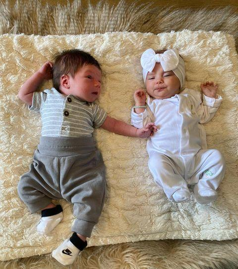 <p>Here's Cruz's first playdate with baby Ocean. Could a <em>Pump</em> Kids spinoff be in the near future?</p>