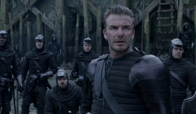 Not the best acting in King Arthur: Legend of the Sword - Credit: Warner Bros.