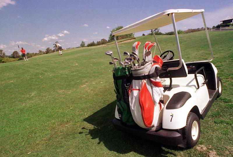 A golf cart injury resulted in a $3.65 million settlement for a New Jersey wealth manager (Getty)