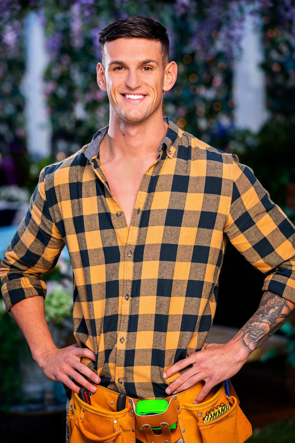 Joe on The Bachelorette Australia