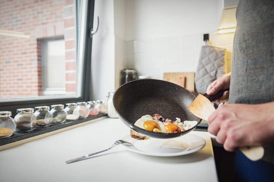 The chemicals in non-stick pans could be having a surprising impact on penis size [Photo: Getty]
