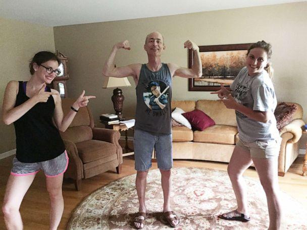 PHOTO: Bethany and Hannah Goralski are pictured here with their father before he passed away. (Courtesy Bethany Goralski )