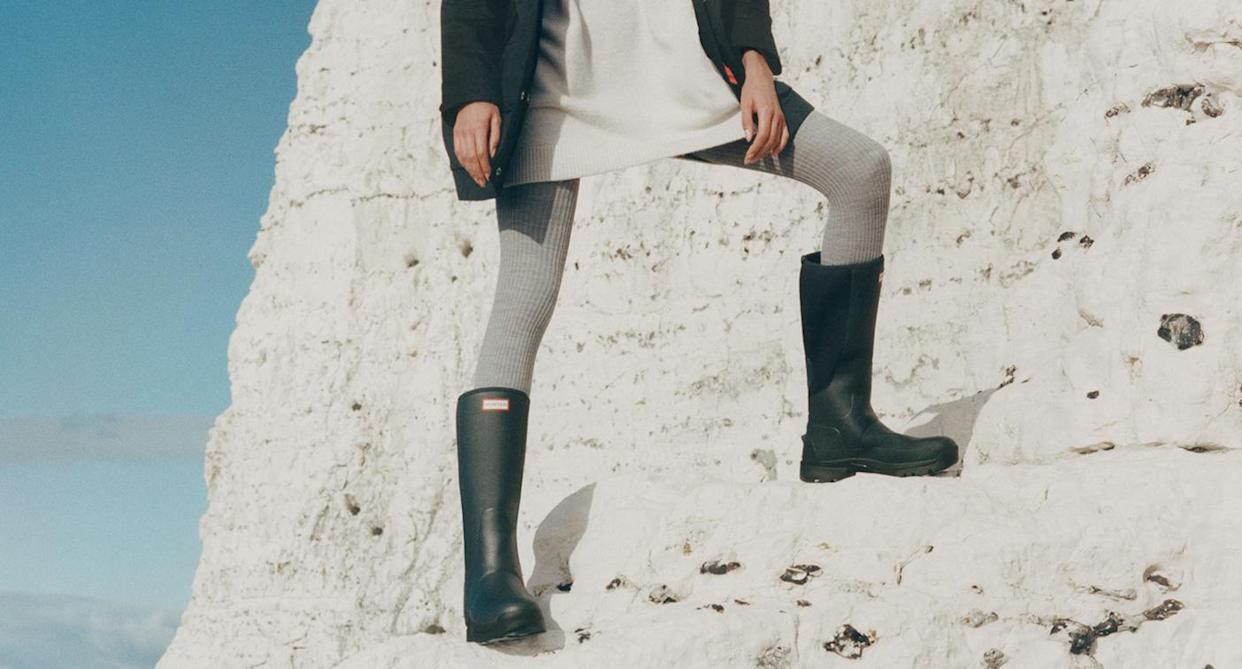 There's a new pair of Hunter wellies in town. (Hunter)