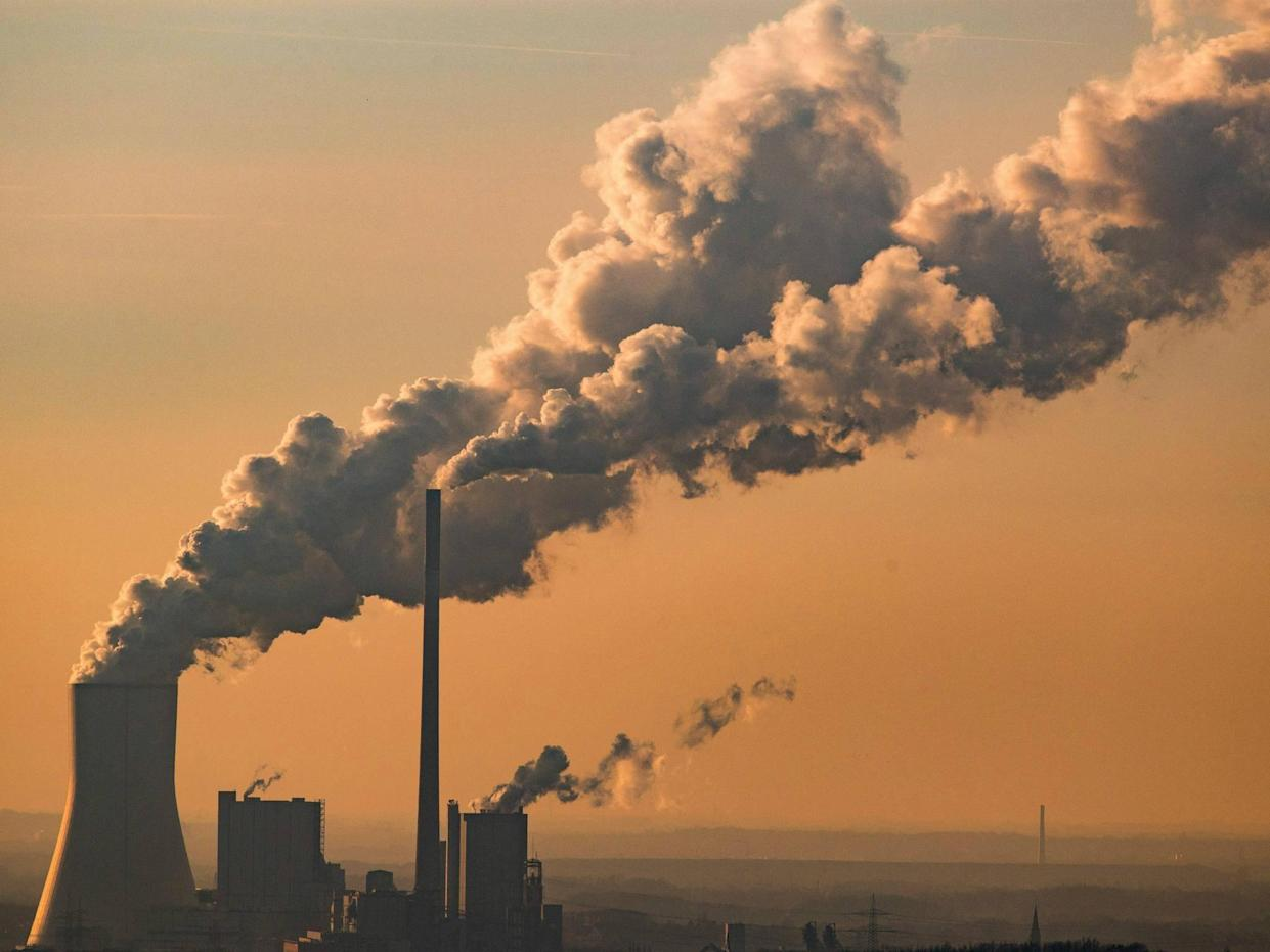 Power plants account for almost 40 per cent of US carbon emissions: Lukas Schulze/Getty Images