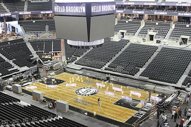 The Brooklyn Nets Reveal Their New Herringbone Patterned
