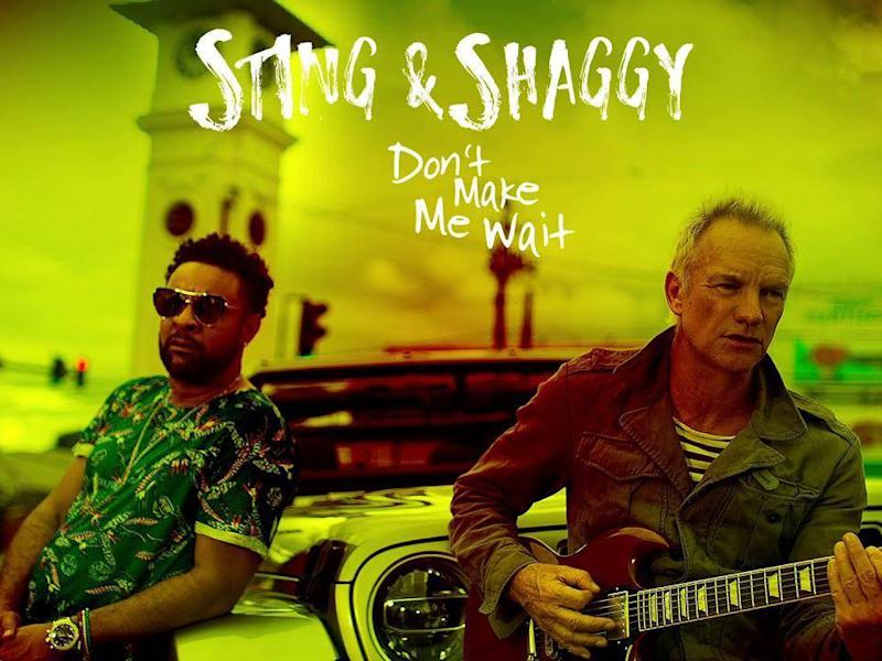 The former Police frontman and Shaggy have already released a single, 'Don't Make Me Wait'