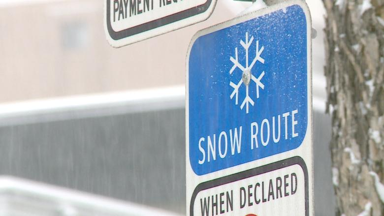 Calgary snow route parking ban goes into effect Monday