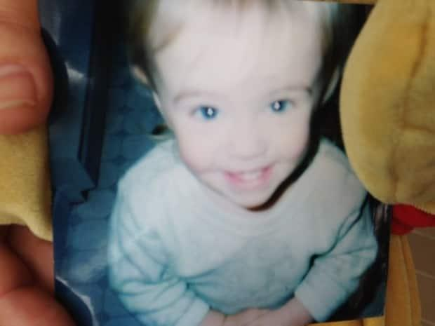 Two-year-old Kennedy Corrigan suffered a massive brain injury on April 2, 2004, and died a week later at the IWK Hospital in Halifax. (Submitted - image credit)