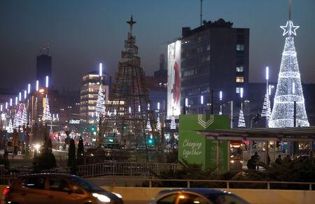The city centre of Katowice is pictured during the COP24 U.N. Climate Change Conference 2018 in Katowice, Poland December 5, 2018. REUTERS/Kacper Pempel