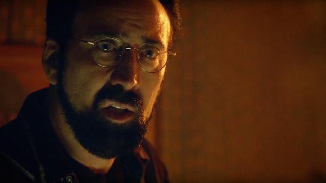 "Nicolas Cage stars in the new psychological drama ""Looking Glass."" (Photo: Momentum Pictures /Courtesy Everett Collection)"
