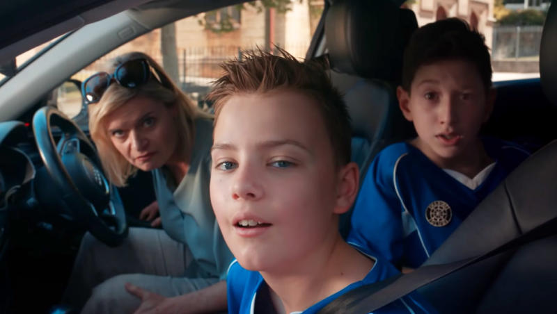 Critics say the ad reinforces harmful 'boys will be boys' stereotypes. Photo: KFC