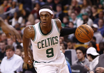 Rajon Rondo was with the Celtics since 2006. (USA TODAY Sports)