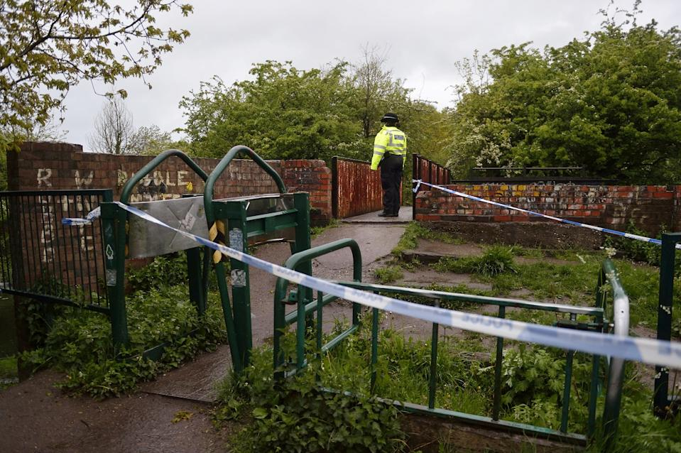 Detectives have appealed for the baby's mother to come forward (swns)