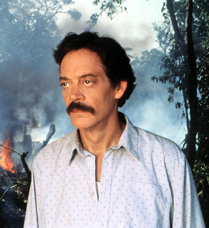 """<p>Puerto Rican actor Juliá overcame illness to complete production on the 1994 TV movie <em>The Burning Season</em> but passed away months later. The next year, Juliá was honored with an Emmy — his first — for oustanding lead actor in a miniseries or movie. He <a href=""""https://people.com/movies/celebrities-nominated-posthumously-golden-globes/?slide=05db087f-d604-4f33-a990-63a59b49a45a#05db087f-d604-4f33-a990-63a59b49a45a"""" rel=""""nofollow noopener"""" target=""""_blank"""" data-ylk=""""slk:won a Golden Globe Award"""" class=""""link rapid-noclick-resp"""">won a Golden Globe Award</a> for the project, too. </p>"""