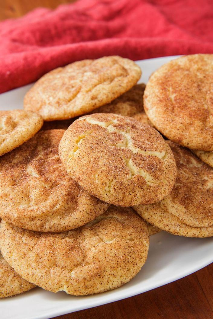 """<p>Everyone needs this classic cookie.</p><p>Get the recipe from <a href=""""https://www.delish.com/cooking/recipe-ideas/a22004581/easy-snickerdoodle-cookie-recipe/"""" rel=""""nofollow noopener"""" target=""""_blank"""" data-ylk=""""slk:Delish."""" class=""""link rapid-noclick-resp"""">Delish.</a><br></p>"""