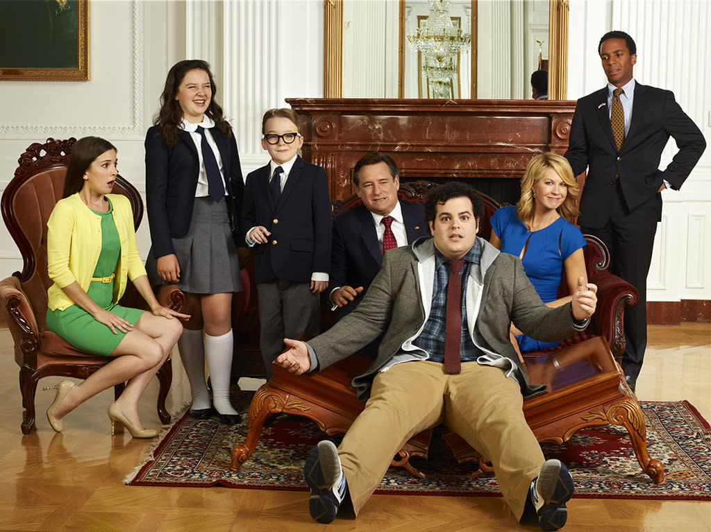 "The cast of ""1600 Penn"" on NBC."