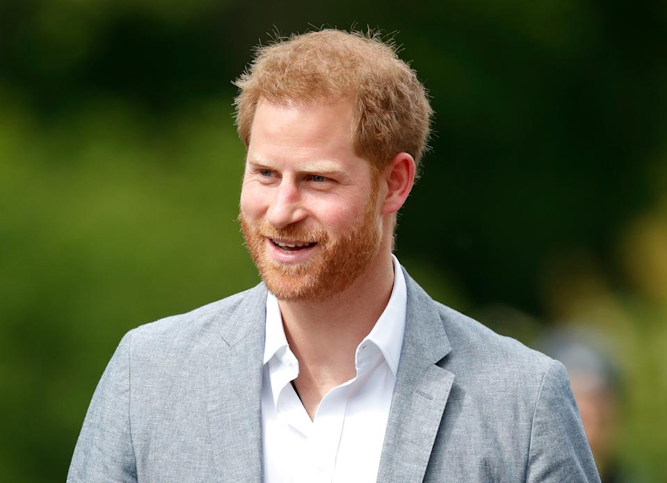 THE HAGUE, NETHERLANDS - MAY 09: (EMBARGOED FOR PUBLICATION IN UK NEWSPAPERS UNTIL 24 HOURS AFTER CREATE DATE AND TIME) Prince Harry, Duke of Sussex visits Sportcampus Zuiderpark to mark the official launch of the Invictus Games The Hague 2020 on May 9, 2019 in The Hague, Netherlands. (Photo by Max Mumby/Indigo/Getty Images)