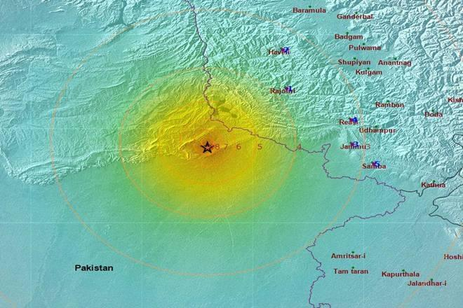 earthquake today, earthquake news, pok earthquake, earthquake india pakistan, india pakistan border earthquake, latest earthquake news, earthquake intensity