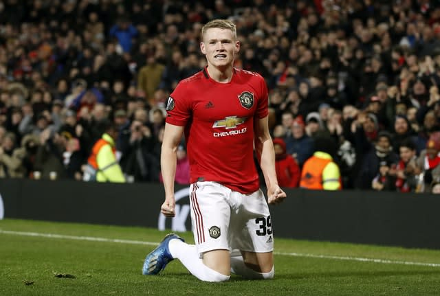 Scott McTominay has competition in the Manchester United midfield