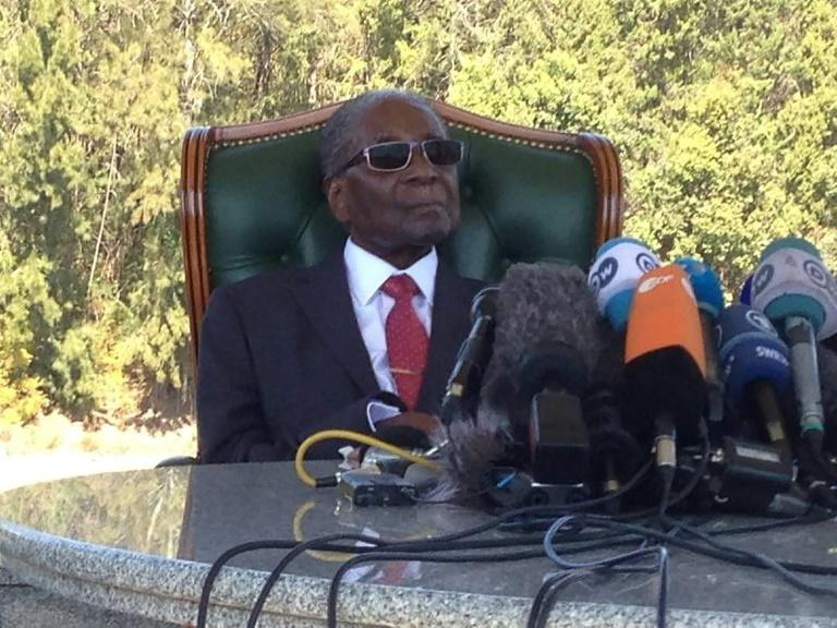 Some Mugabe relatives are still bitter over how he was removed from power, and the role Mnangagwe played in his ouster (AFP Photo/Jekesai NJIKIZANA)