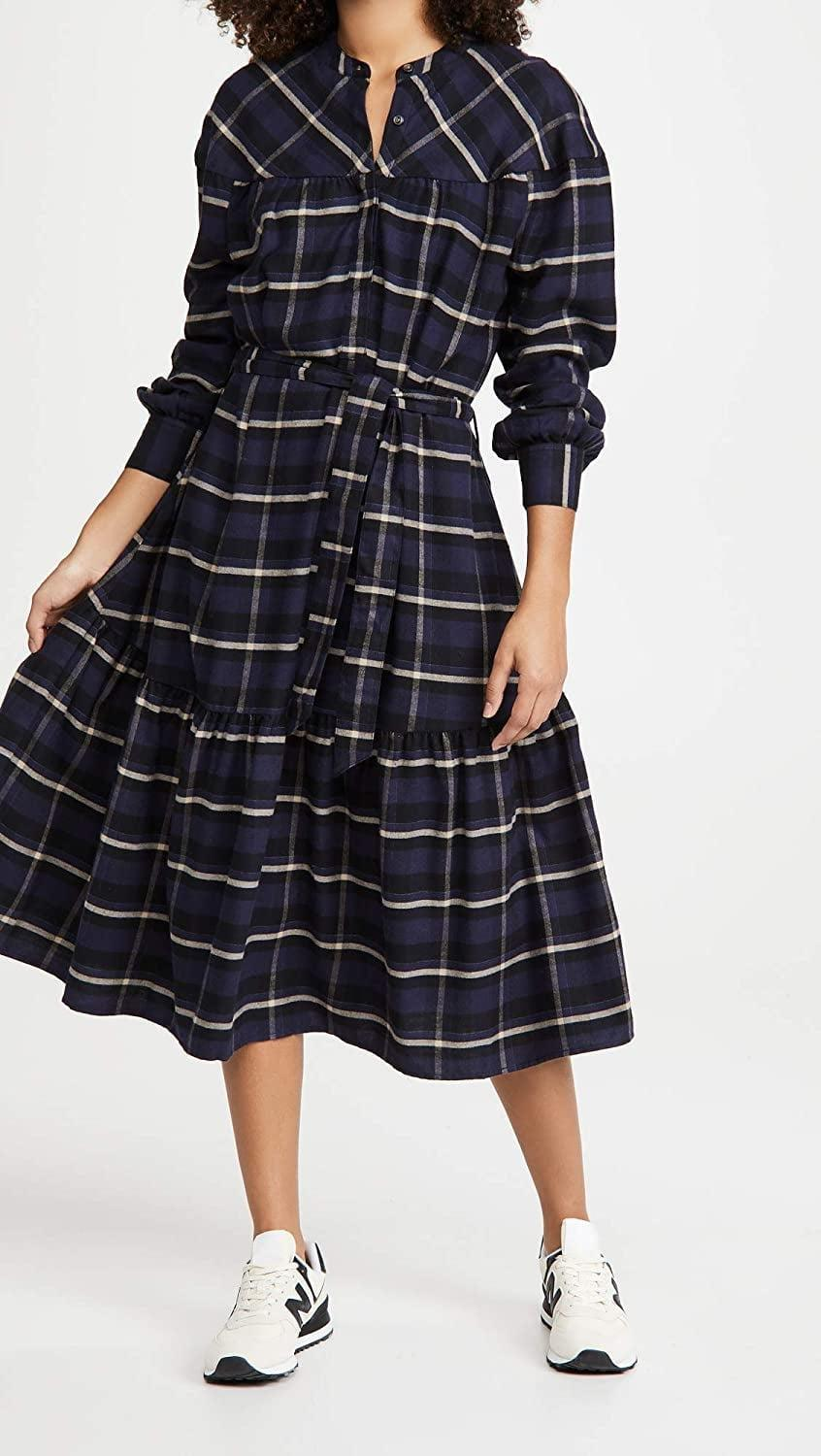 <p>Wear this comfy <span>Closed Joenna Dress</span> ($425) with sneakers.</p>