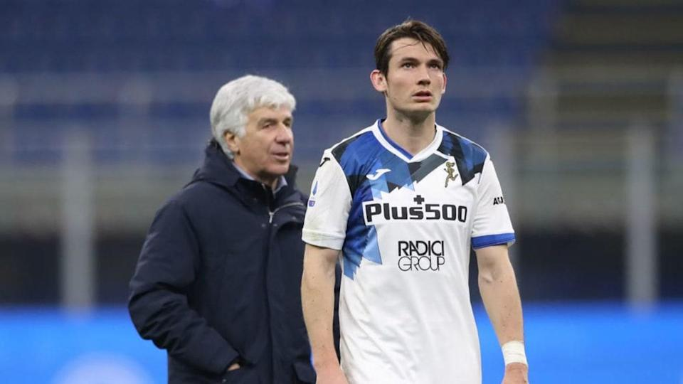 Gasperini e de Roon | Jonathan Moscrop/Getty Images