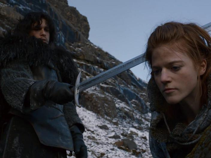 Ygritte and Jon Snow Game of Thrones