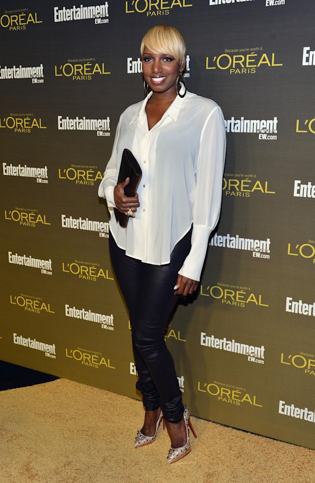 WEST HOLLYWOOD, CA - SEPTEMBER 21:  Actress Nene Leakes attends The 2012 Entertainment Weekly Pre-Emmy Party Presented By L'Oreal Paris at Fig & Olive Melrose Place on September 21, 2012 in West Hollywood, California.  (Photo by Alberto E. Rodriguez/Getty Images for Entertainment Weekly)