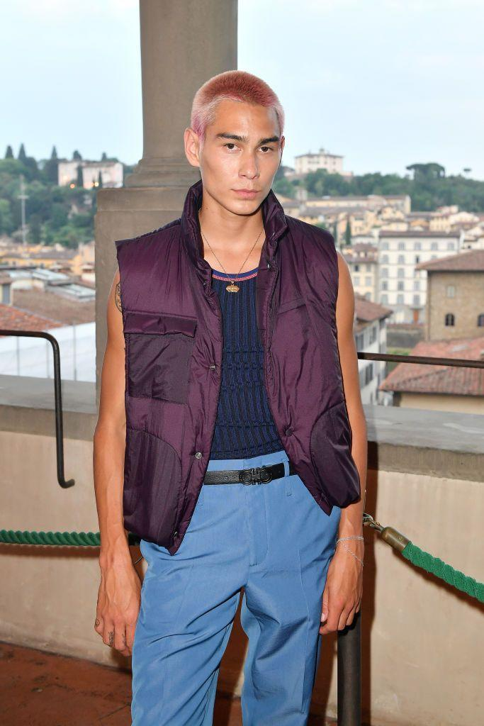 <p>Model and skateboarder Evan Mock makes his acting debut with <em>Gossip Girl</em>. His role is also a secret for now. </p>