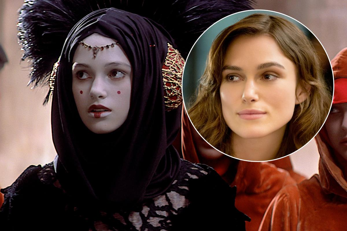 <p>Before she shot to fame in 'Bend It Like Beckham' Keira Knightley had a minor role in 'Phantom Menace'. She plays Amidala's decoy Sabe, who is outed as a double to Natalie Portman's character when meeting with Boss Nass. </p>