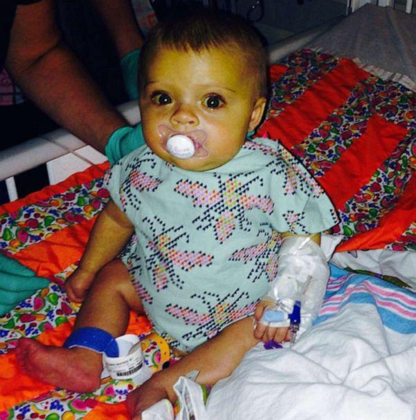 PHOTO: Beatrice Weidner was born with a rare liver disease and was given a liver transplant at 6 months old at the Cincinnati children's hospital. (Courtesy Hillary Weidner)