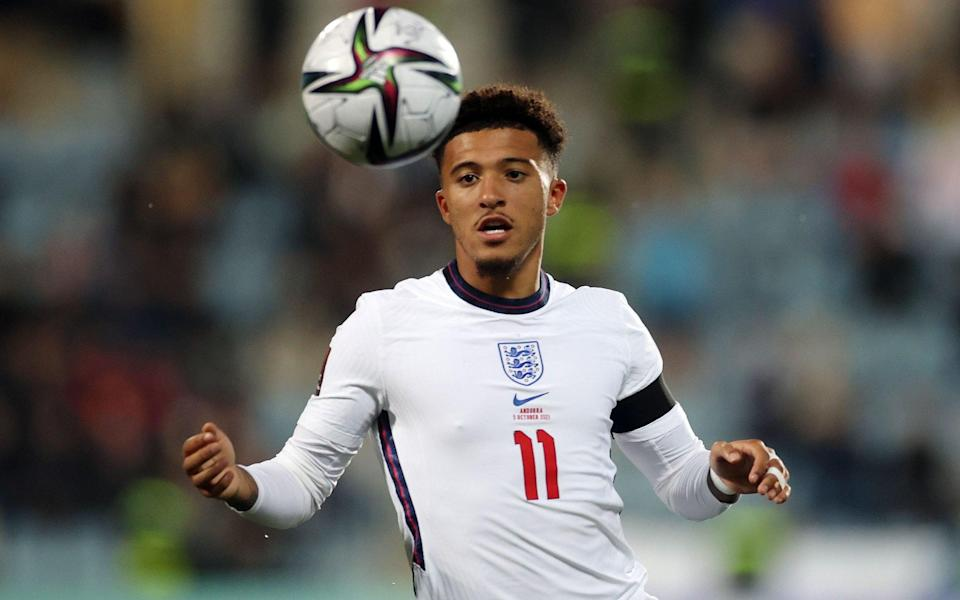 Jadon Sancho justifies Gareth Southgate's belief but work remains to guarantee World Cup place - REUTERS