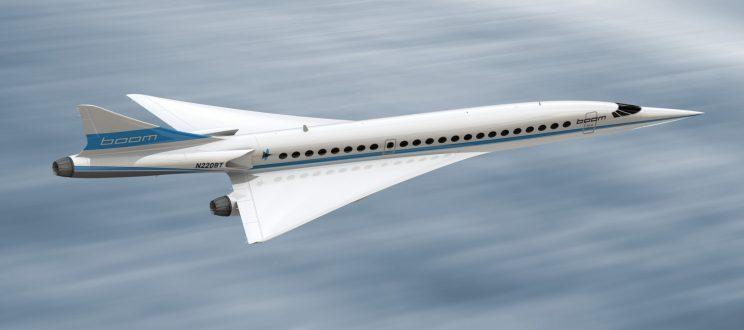 The supersonic aircraft will fly higher than 60,000ft [Boom Technology]