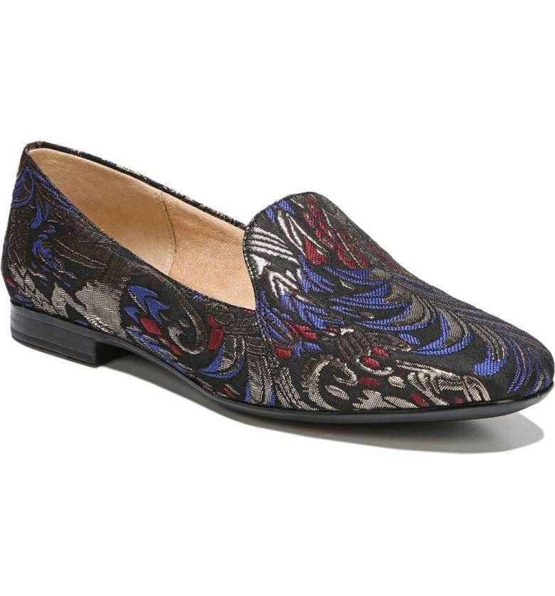 "<a href=""http://shop.nordstrom.com/s/naturalizer-emiline-flat-loafer-women/4670665?origin=category-personalizedsort&fashioncolor=BLACK%20MULTI%20BROCADE%20FABRIC"" target=""_blank"">Shop them here</a>."