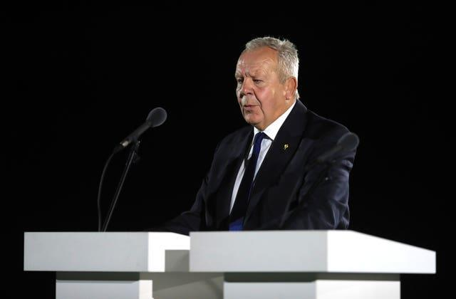World Rugby chairman Bill Beaumont is colour blind (Adam Davy/PA)