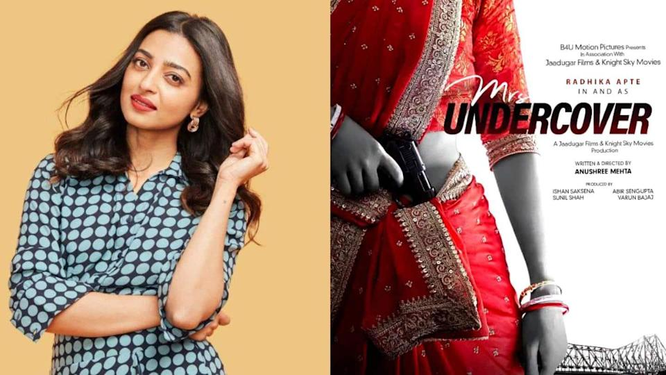 Radhika Apte announces next project, a spy-thriller titled