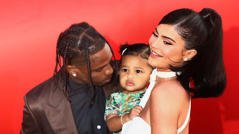 Kylie Jenner and Travis Scott Reunite for Disneyworld Trip With Daughter Stormi
